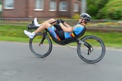 Stijn van de Maele new world champion 2013 on M5 Carbon High Racer!