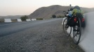 Globetrotter Arthur riding through Uzbekistan